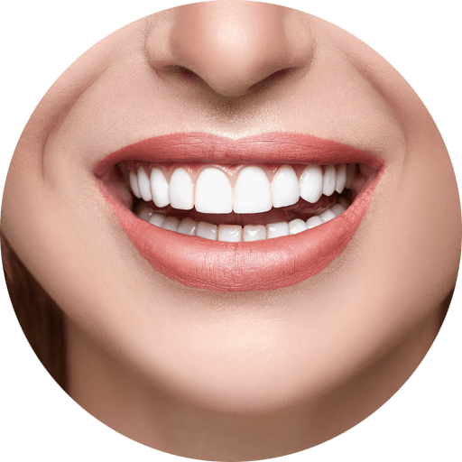 dental patient smiling after gingivectomy