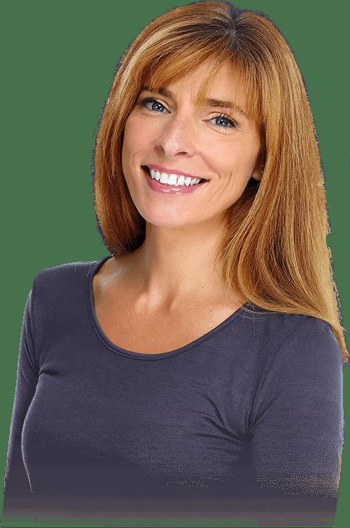 guided tissue regeneration patient smiling