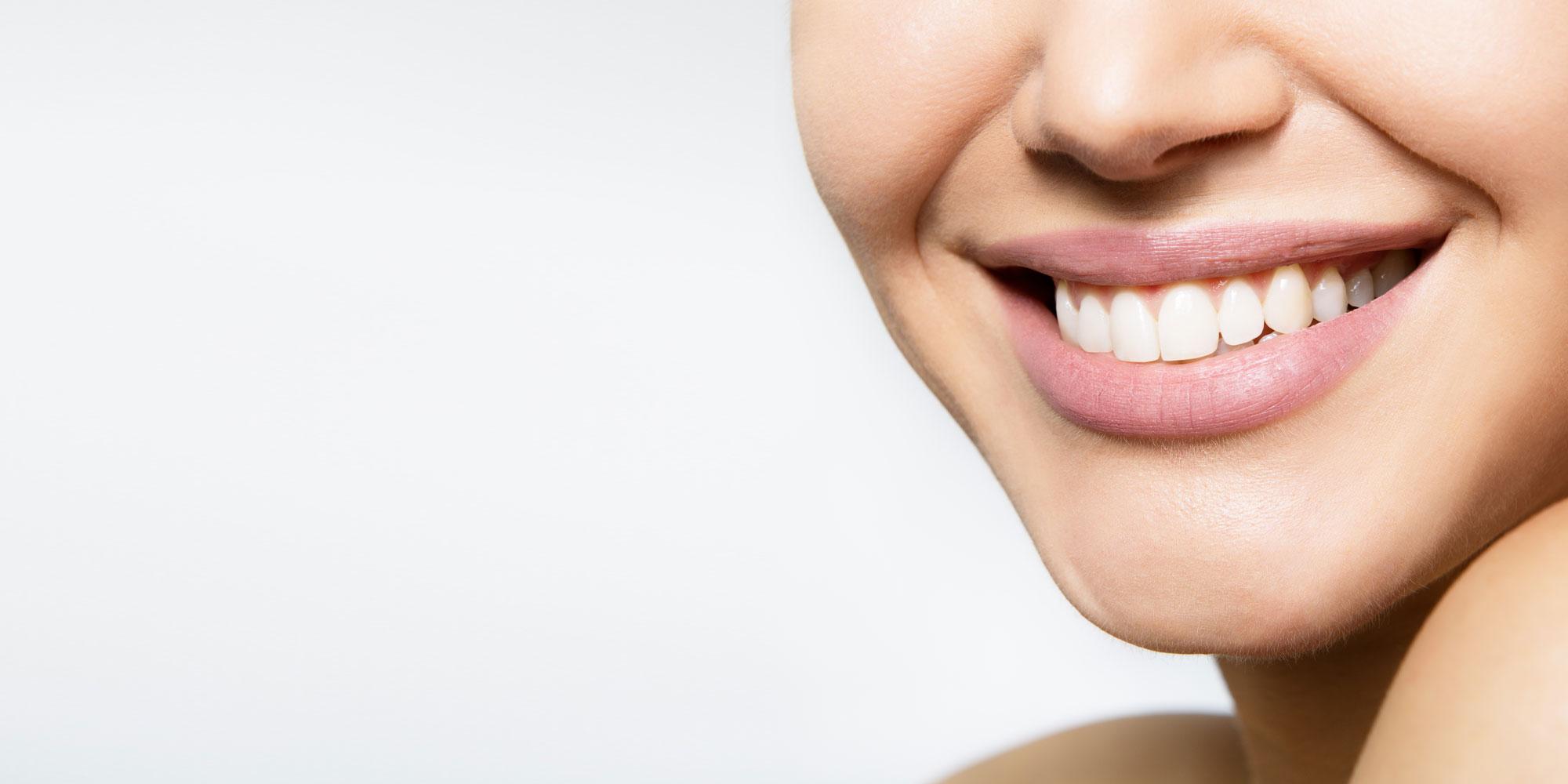 gum grafting patient smiling