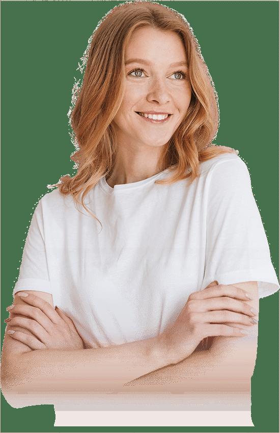 patient smiling after dental procedure