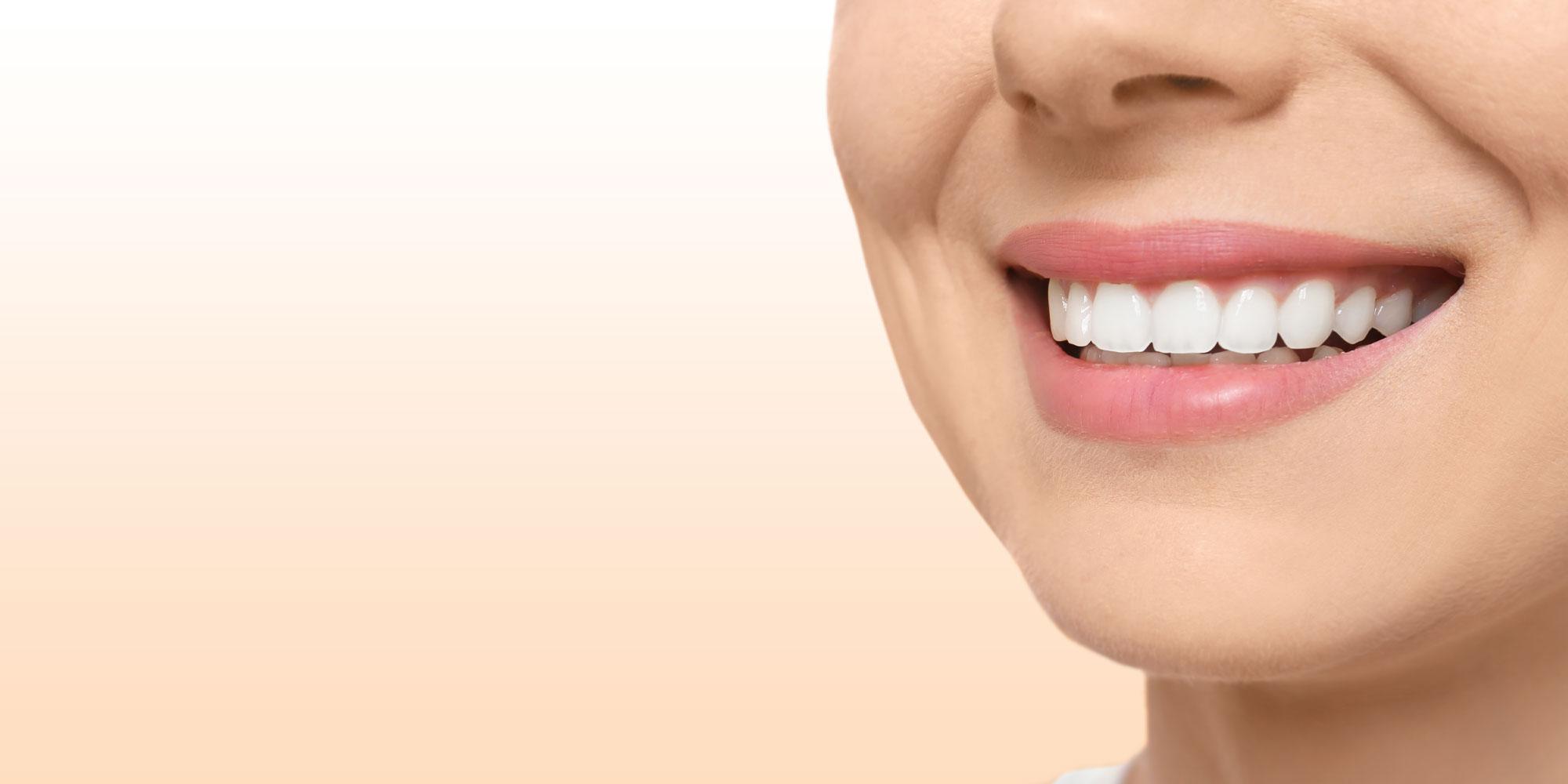 ridge augmentation patient smiling