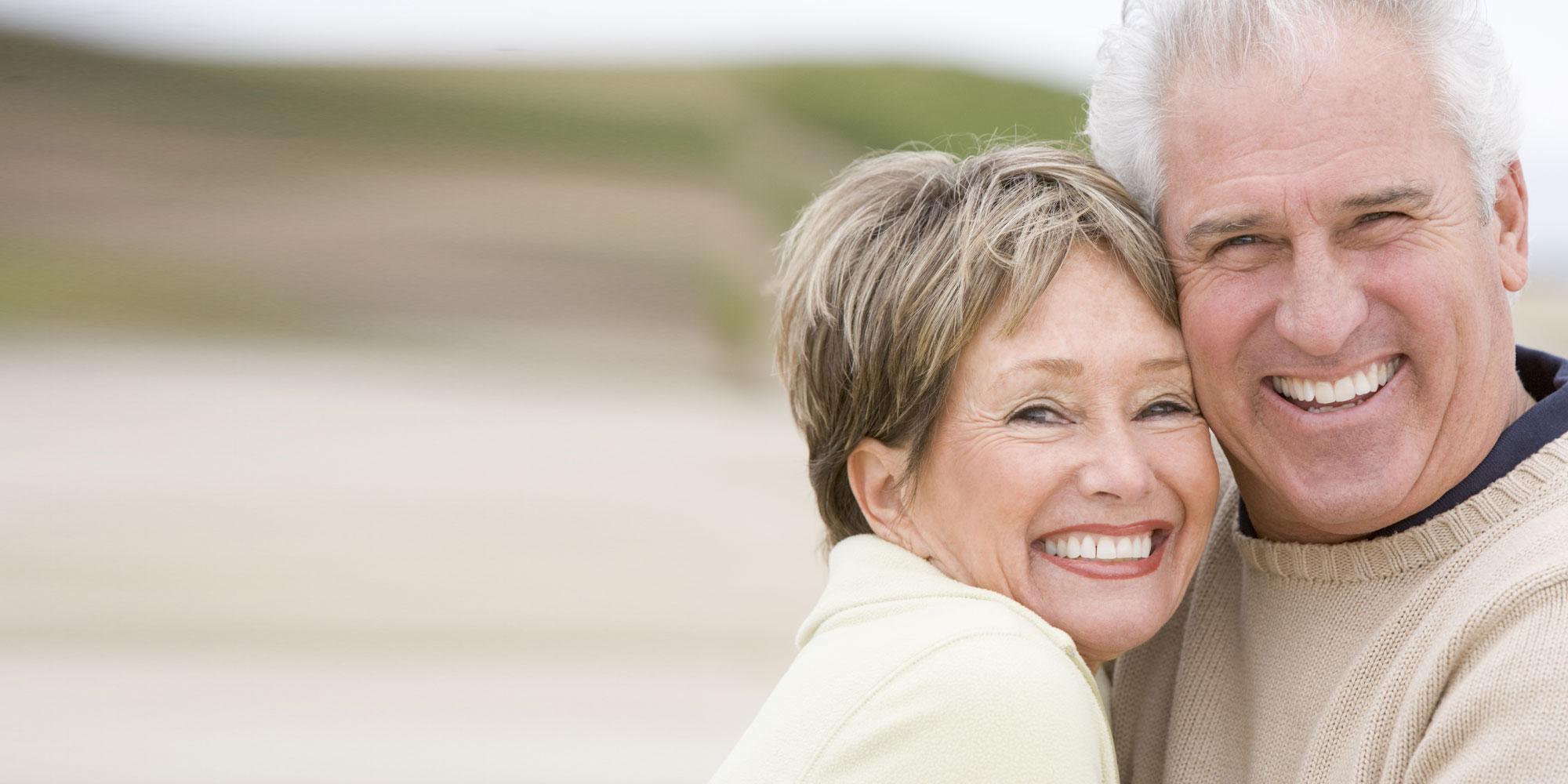 same day dental implants patient smiling